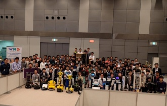 RoboCup Japan Open @Homeリーグ全体集合写真