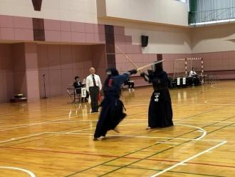 試合の様子(剣道)