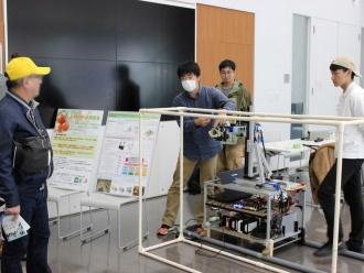 トマト収穫ロボット 実機デモ1 (Hibikino-Toms)