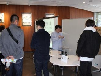 超小型人工衛星レプリカ展示 (衛星開発プロジェクト)