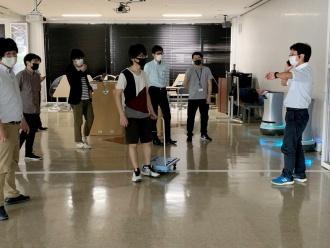 NECネッツエスアイによる、ロボット技術講習会の様子