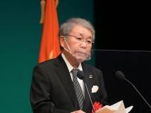 高原明専会会長による来賓祝辞