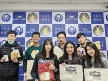 終了後の記念写真(台湾科技大学)